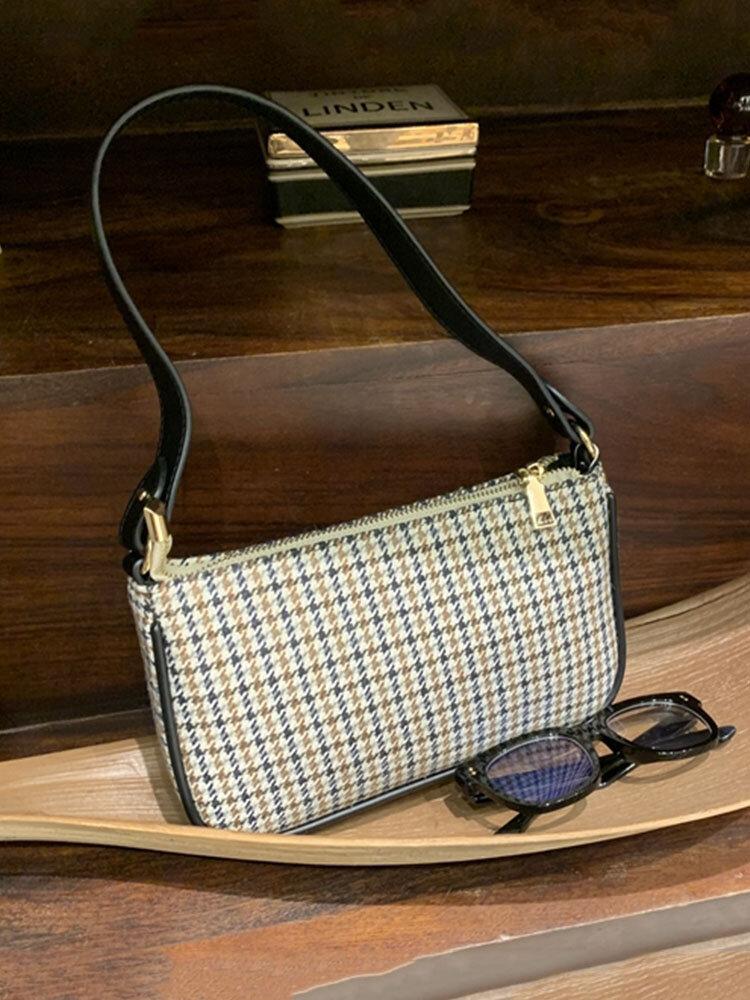 Women Vintage Paisley Polyester Large Capacity Crossbody Bag Handbag