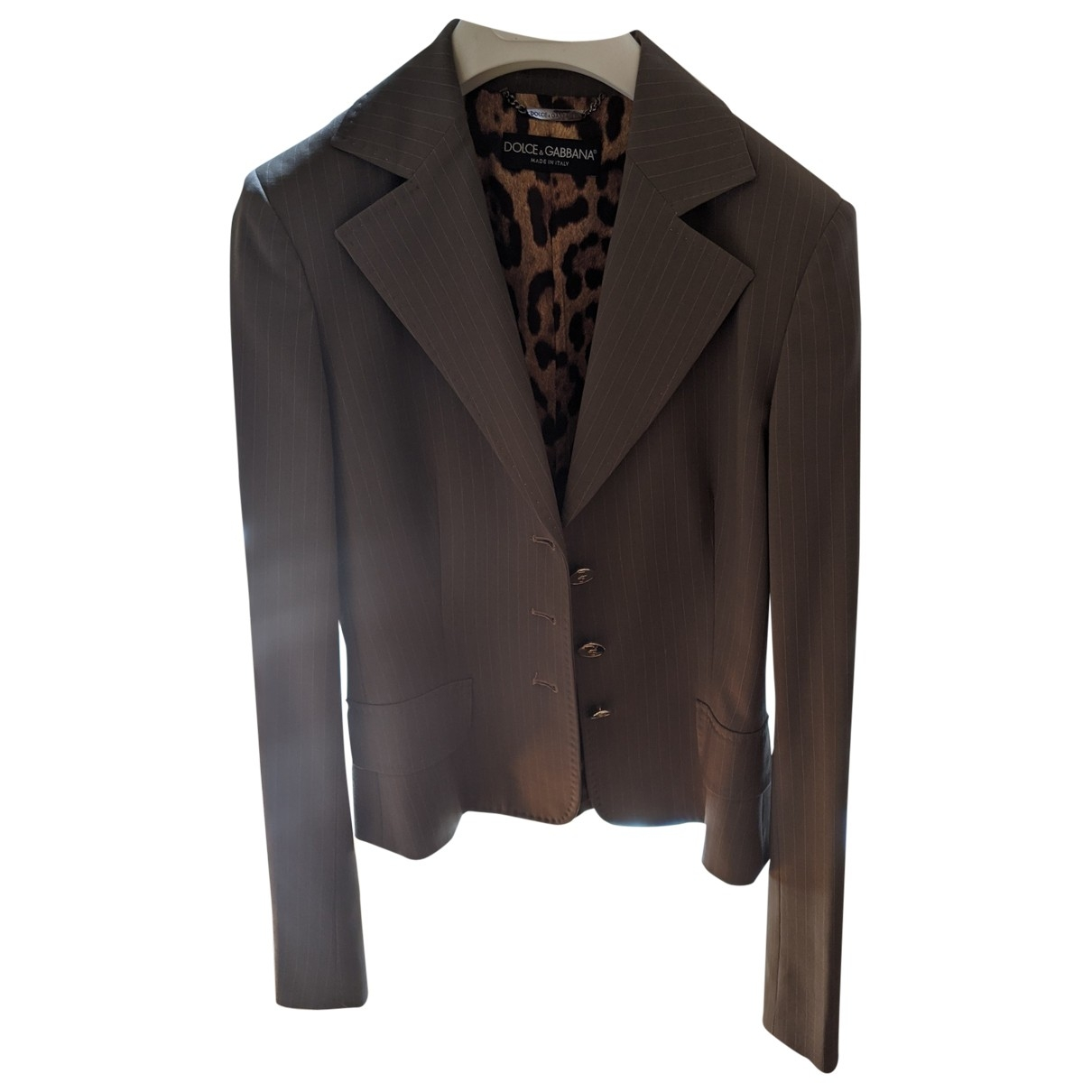 Dolce & Gabbana \N Khaki Wool jacket for Women 38 FR