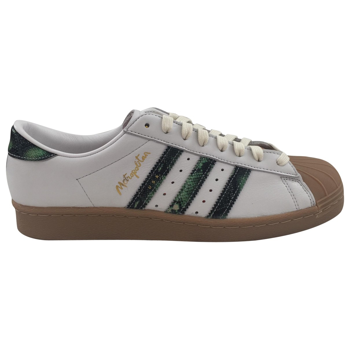 Adidas \N White Leather Trainers for Men 44 EU