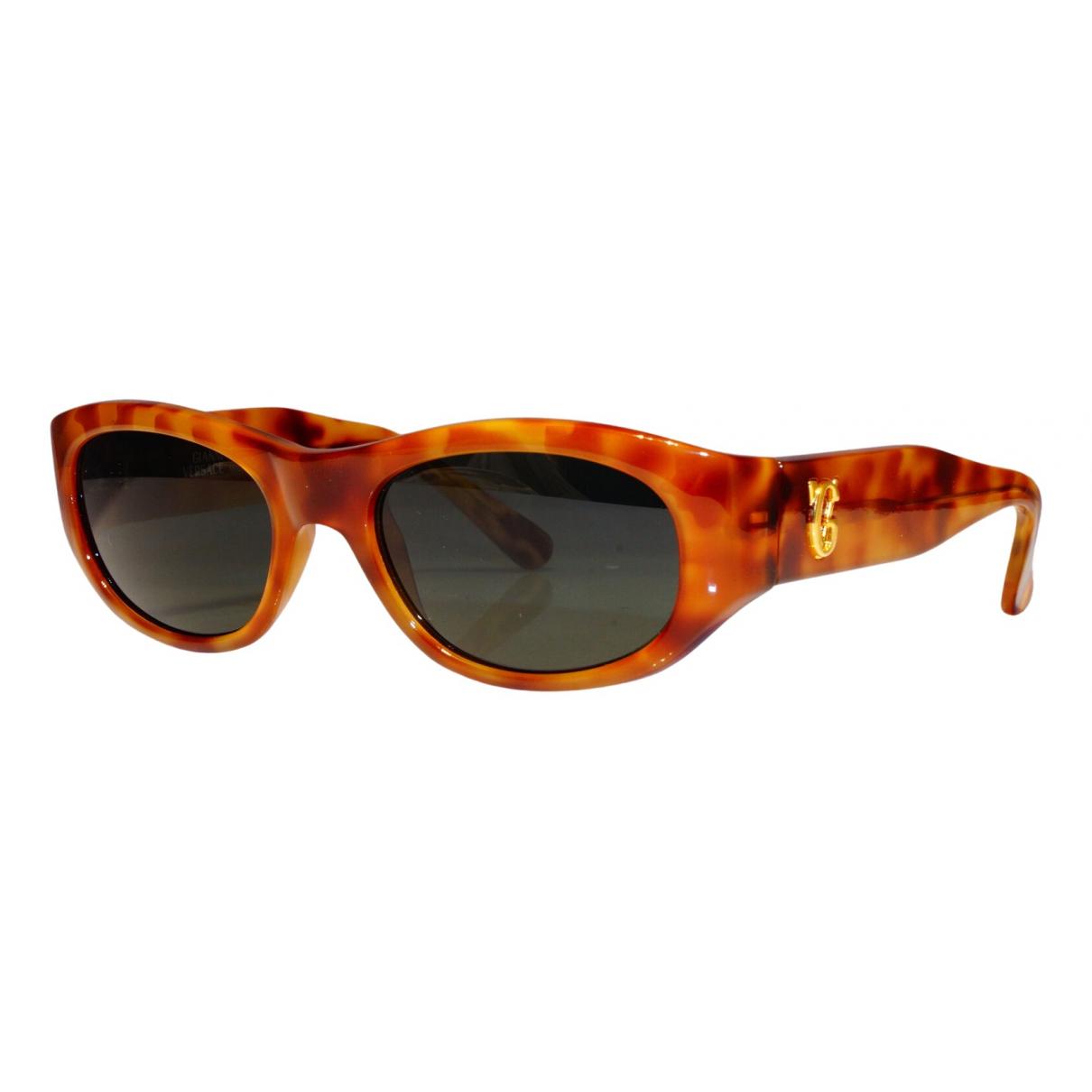 Gianni Versace \N Burgundy Sunglasses for Men \N