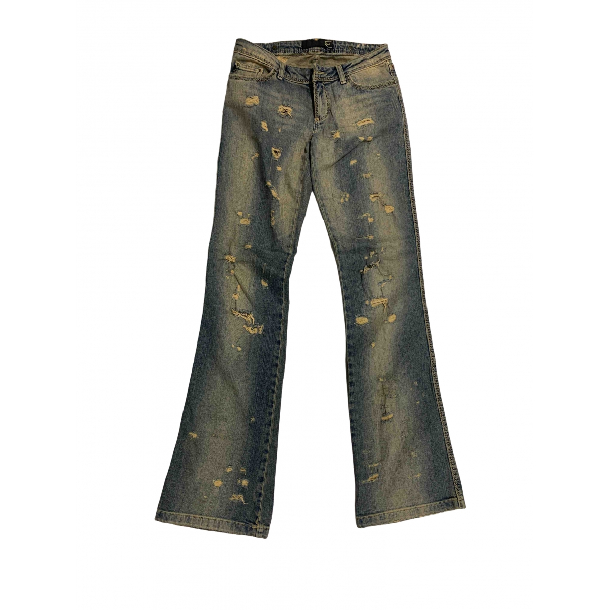 Just Cavalli \N Blue Cotton Jeans for Women 26 US