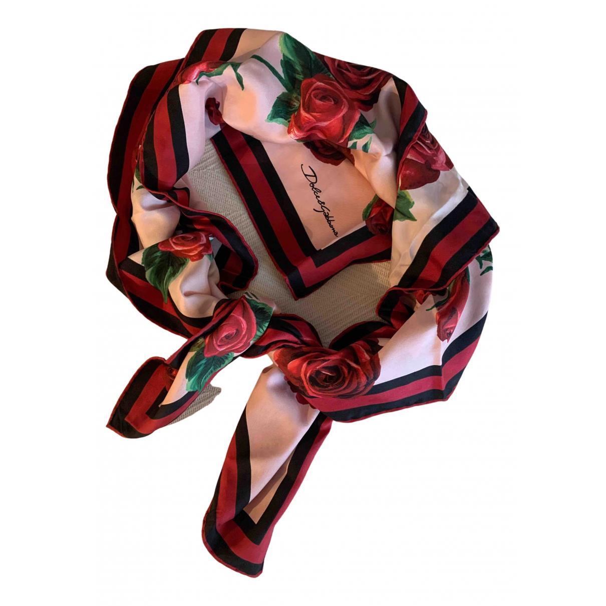 Dolce & Gabbana N Multicolour Silk scarf for Women N