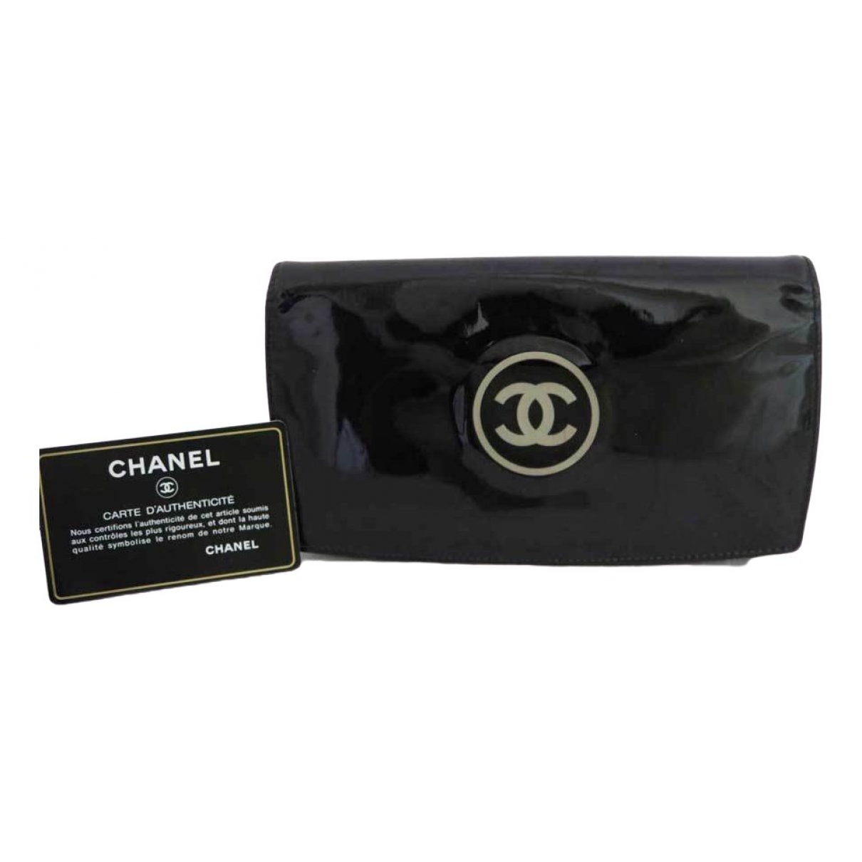 Chanel \N Black Patent leather wallet for Women \N