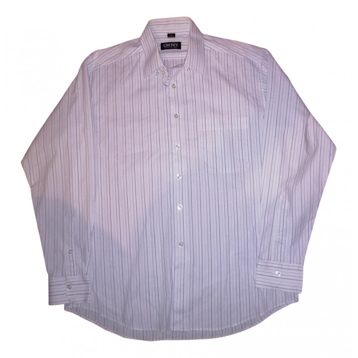 Dkny \N White Cotton Polo shirts for Men XL International