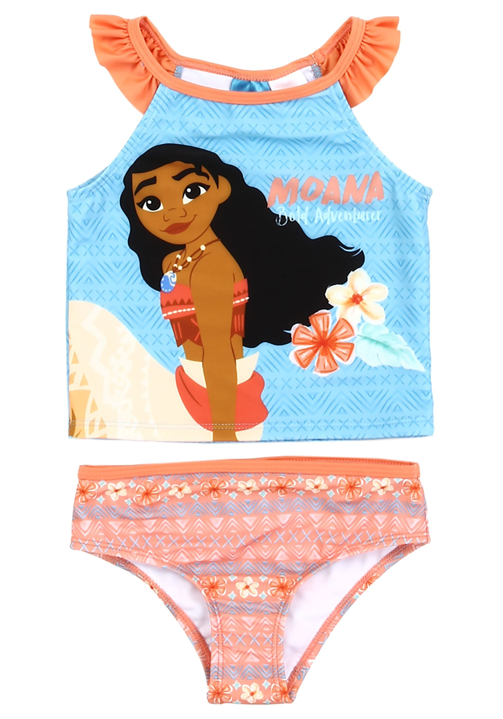 Disney Moana Two-Piece Toddler Swimsuit for Girls