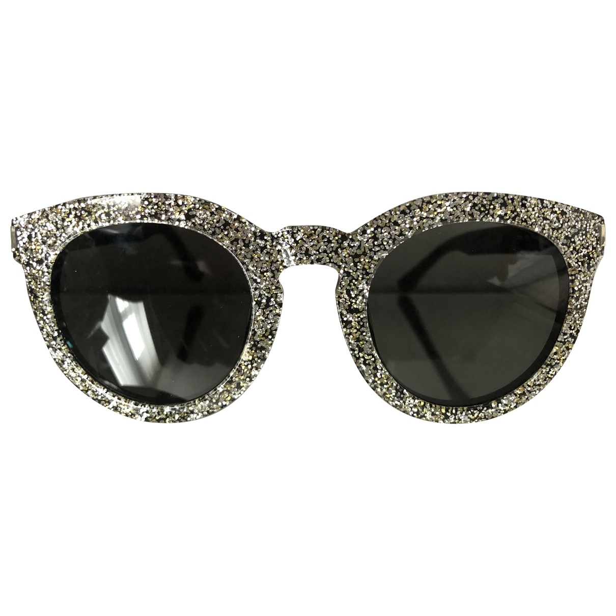 Saint Laurent \N Silver Sunglasses for Women \N