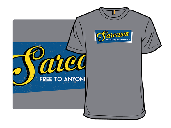 Vintage Sarcasm T Shirt