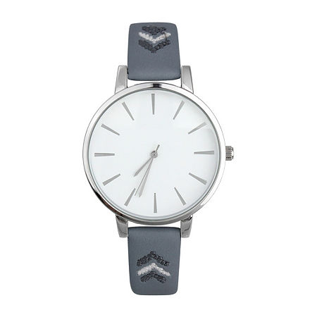 Mixit Womens Blue Strap Watch-Pt5980svnv, One Size , No Color Family