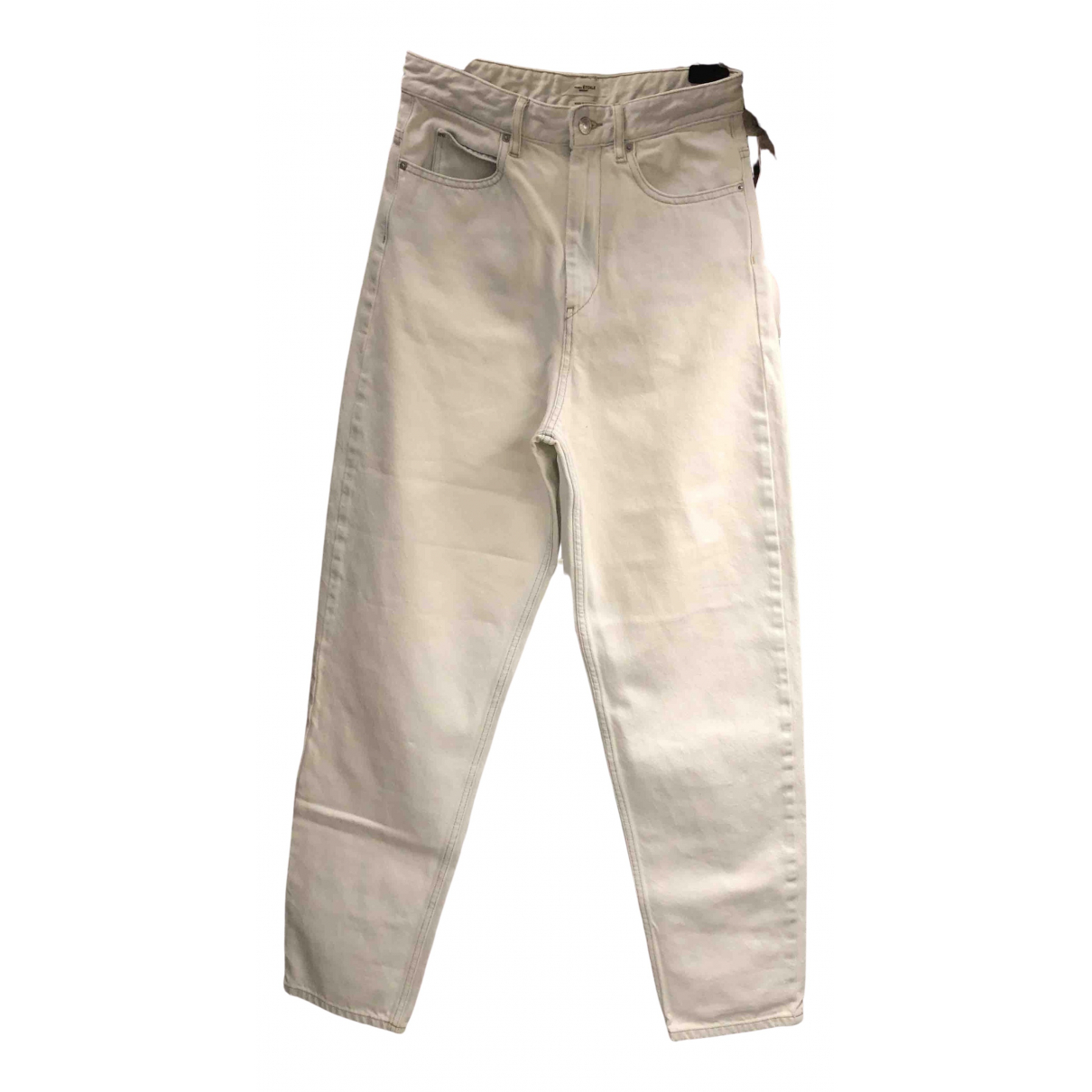 Isabel Marant \N Grey Cotton Jeans for Women 34 FR