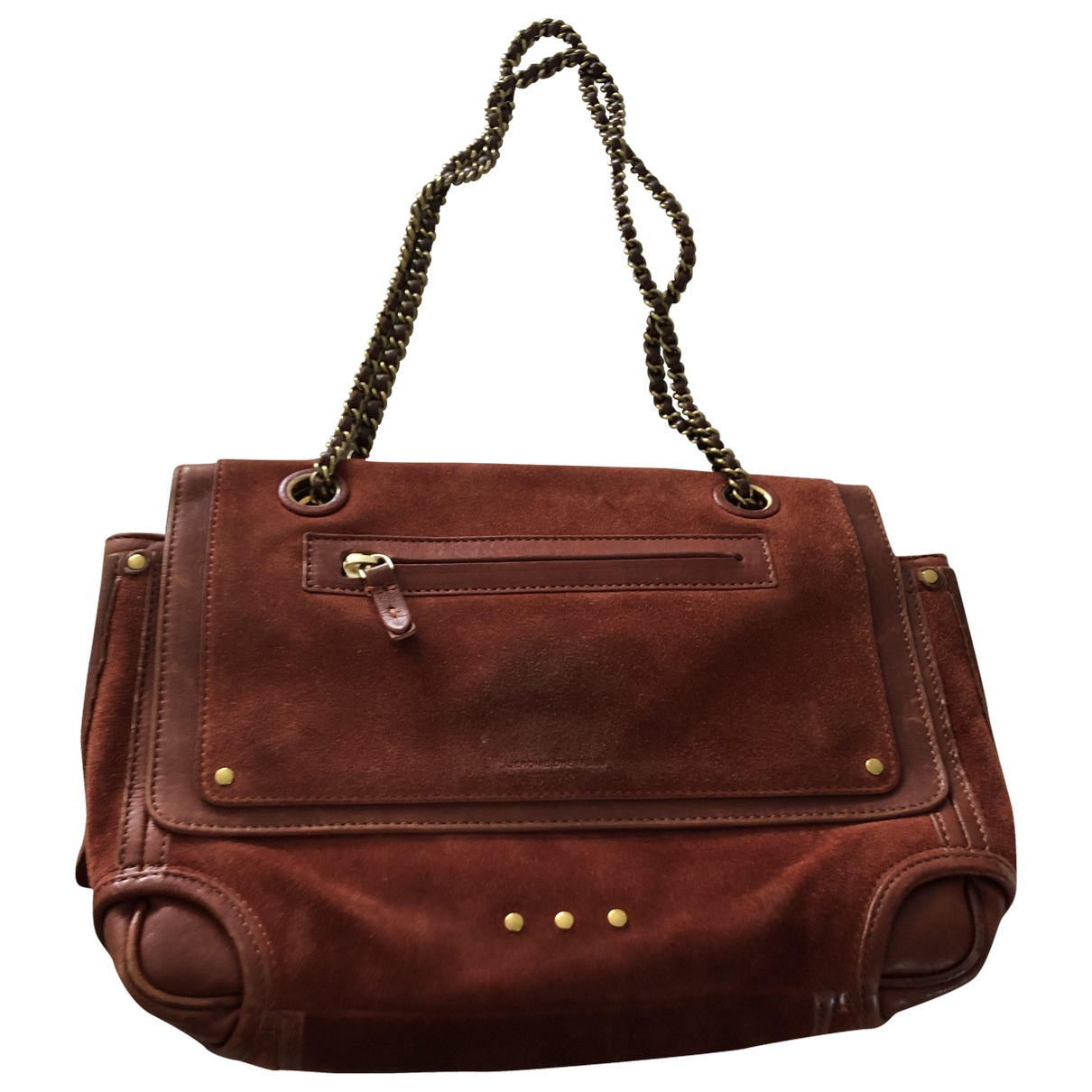 Jerome Dreyfuss Benjamin Red Leather handbag for Women \N