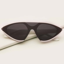 Men Flat Top Cat Eye Sunglasses