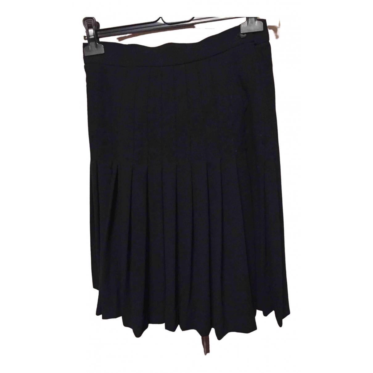 Dior \N Black Wool skirt for Women 34 FR