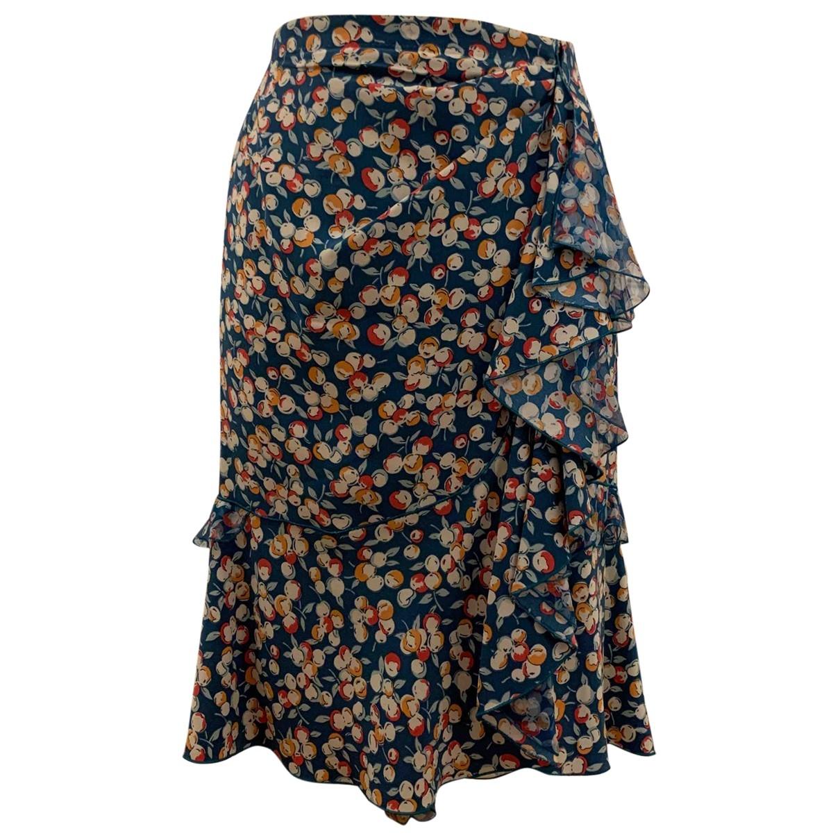 Louis Vuitton \N Multicolour Silk skirt for Women 38 FR