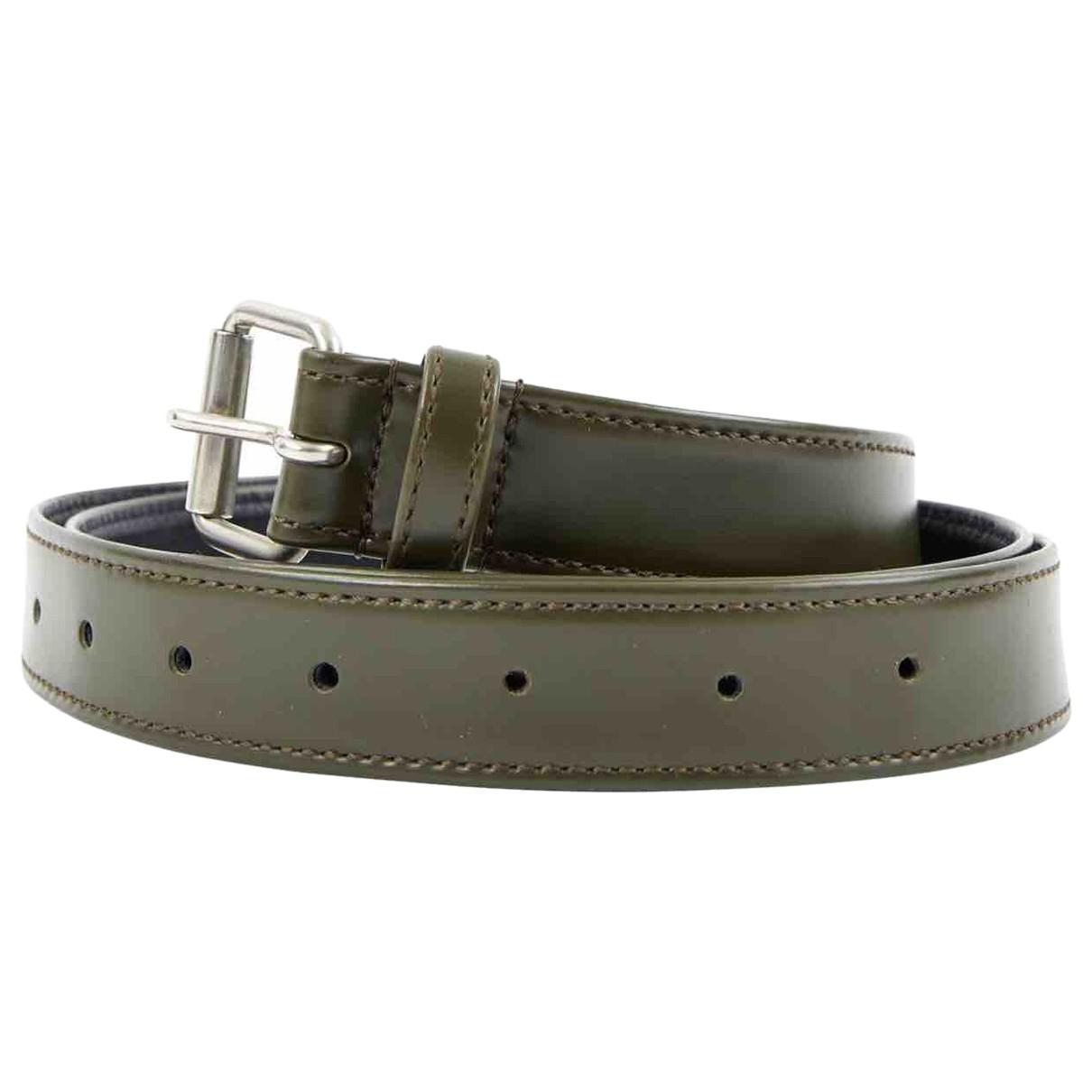 Comme Des Garcons \N Khaki belt for Women 80 cm