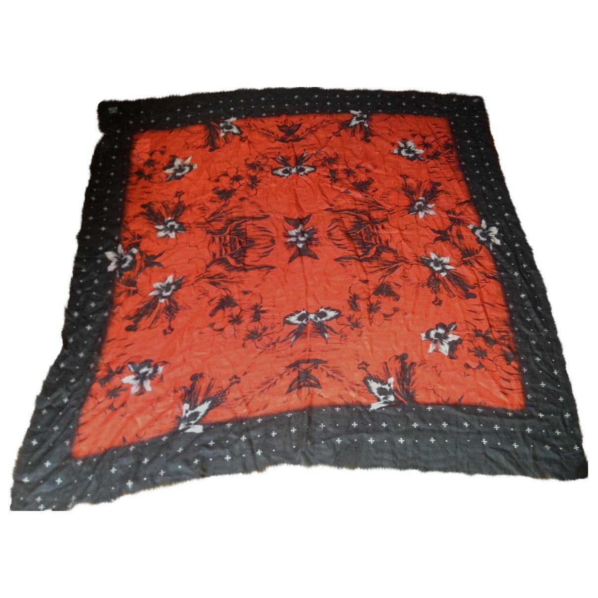 Sandro \N Blue / Red scarf for Women \N