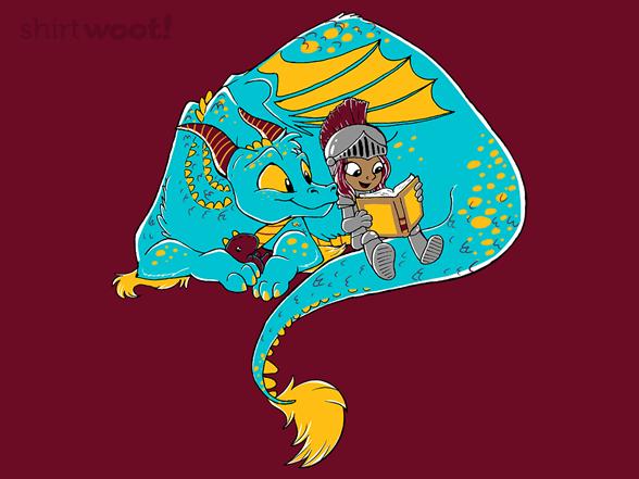 Knighty-knight Dragon T Shirt