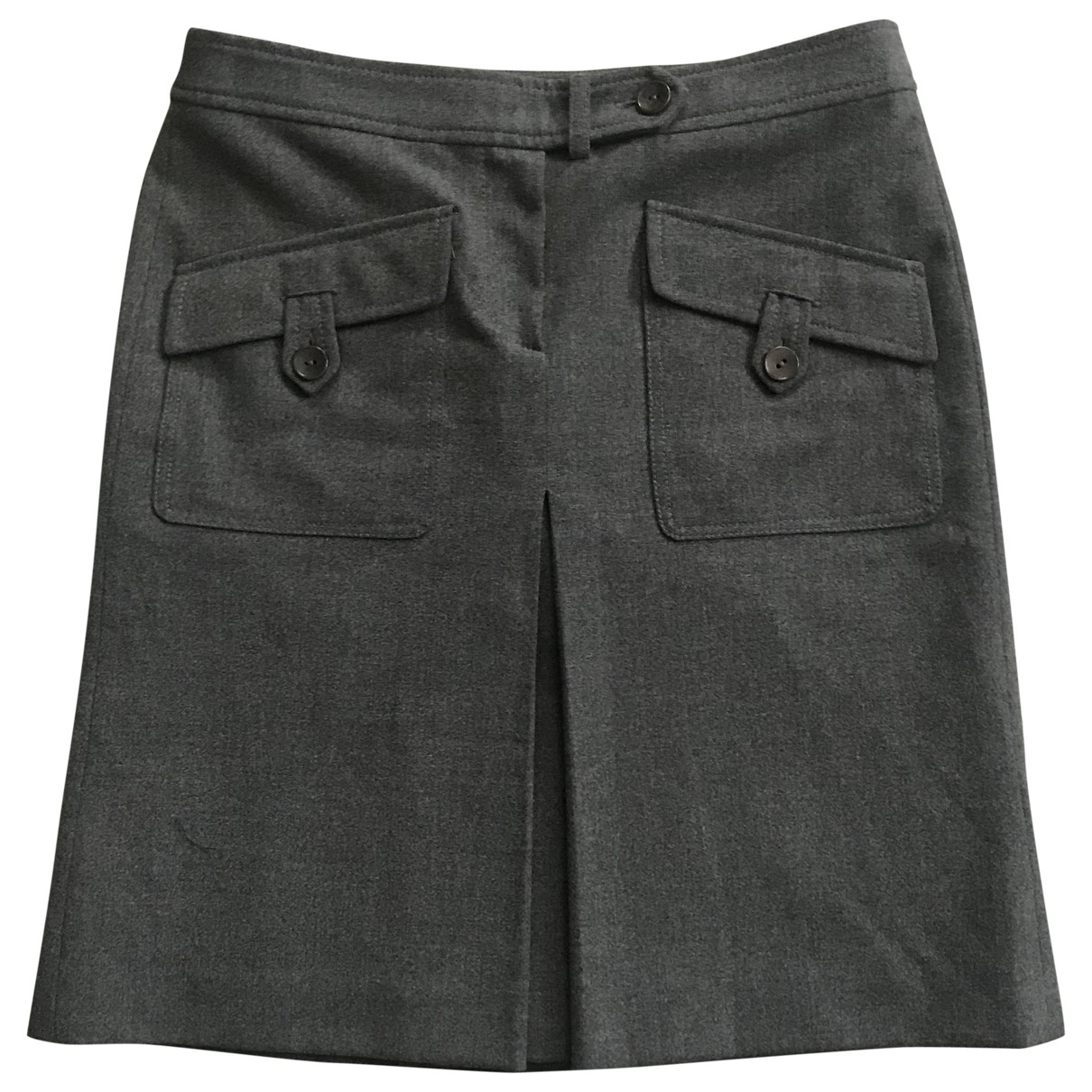 Non Signé / Unsigned \N Grey skirt for Women 42 IT