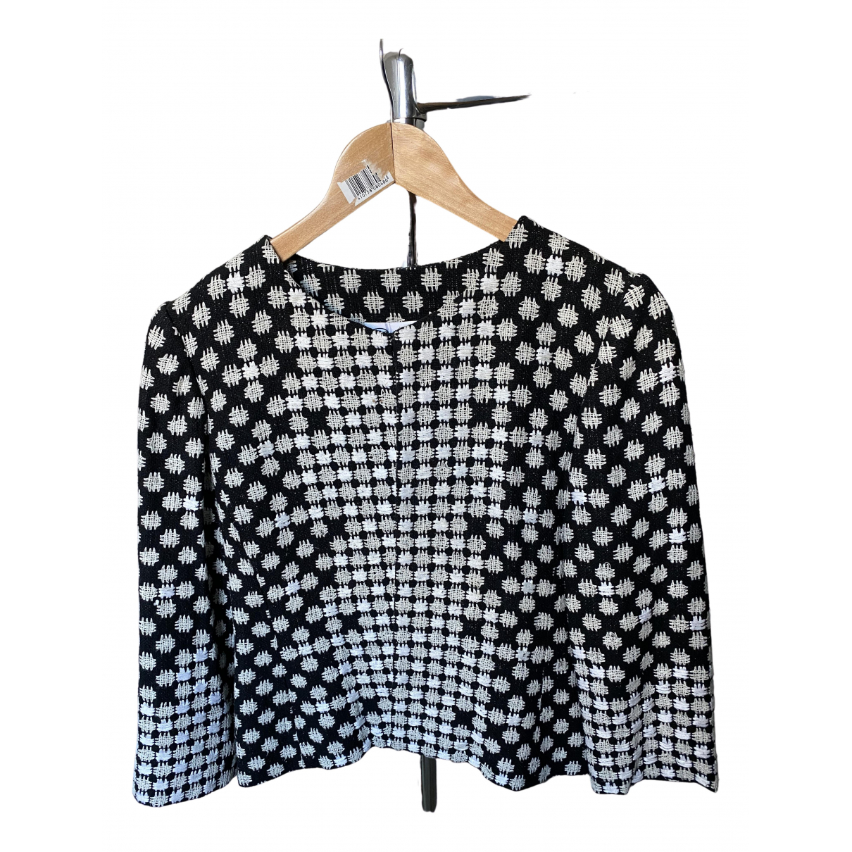 Oscar De La Renta \N Black Cotton jacket for Women 6 US