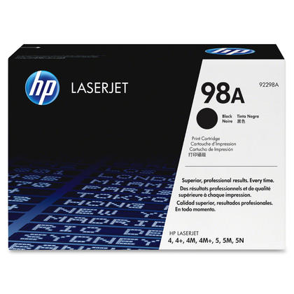 HP 98A 92298A Original Black Toner Cartridge