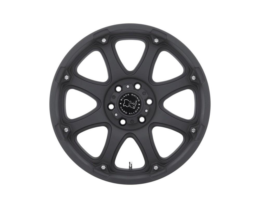Black Rhino Glamis Matte Black Wheel 18x9 6x139.70 6x5.5 12mm CB112
