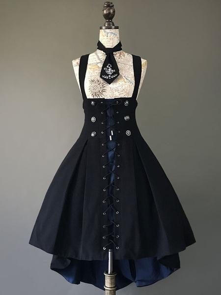 Milanoo Gothic Lolita Corset Jumper Skirt Farron Covenant Lolita JSK