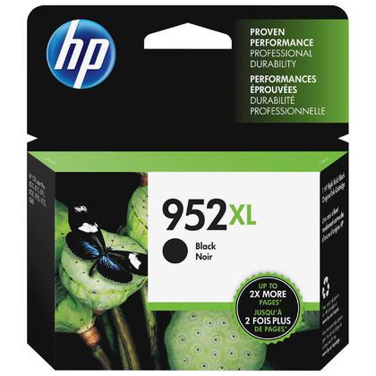 HP 952XL F6U19AN cartouche d'encre originale noire haute capacité