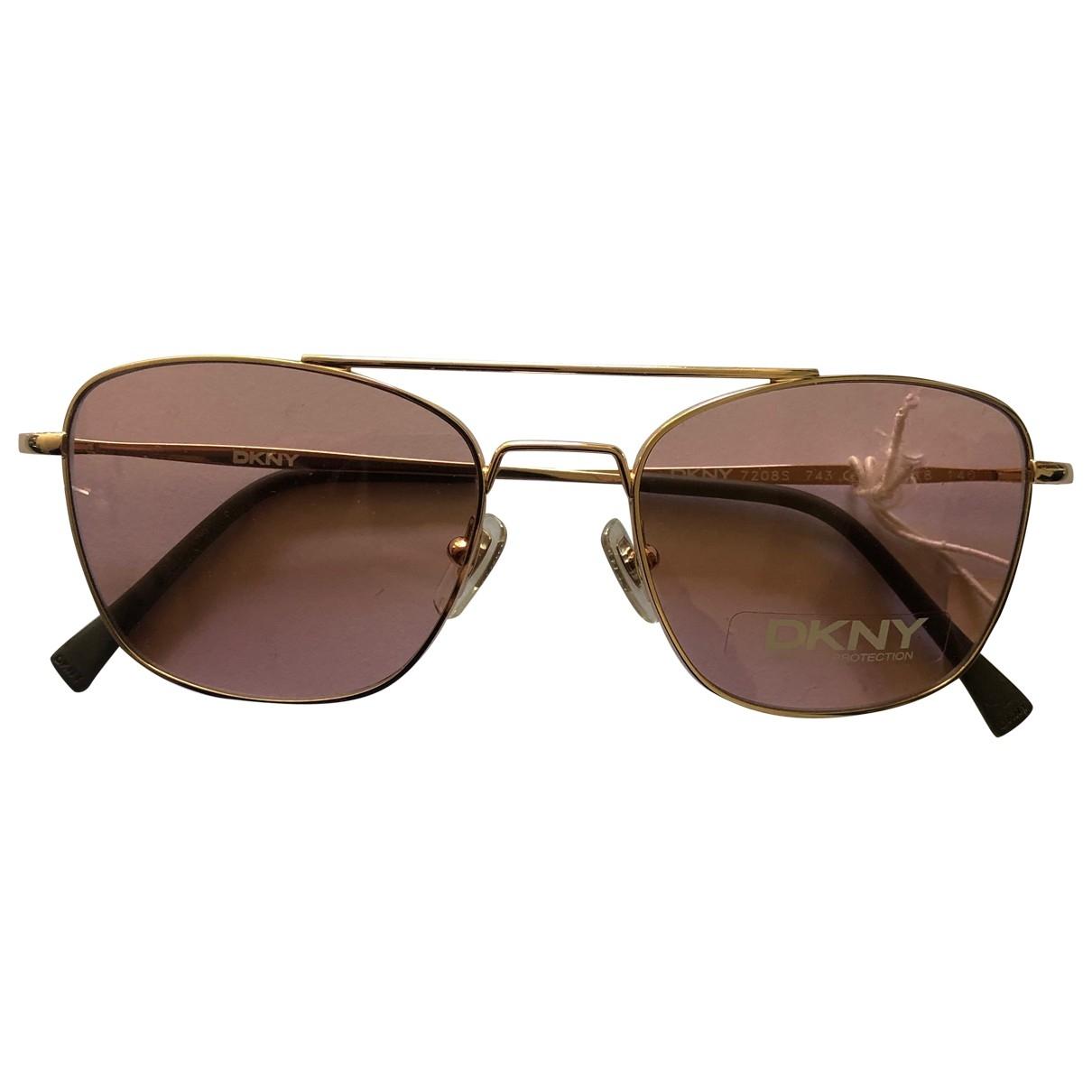 Dkny \N Metal Sunglasses for Women \N