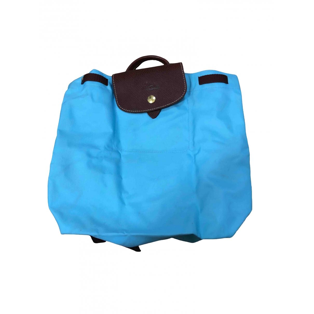 Longchamp \N Blue Cloth handbag for Women \N