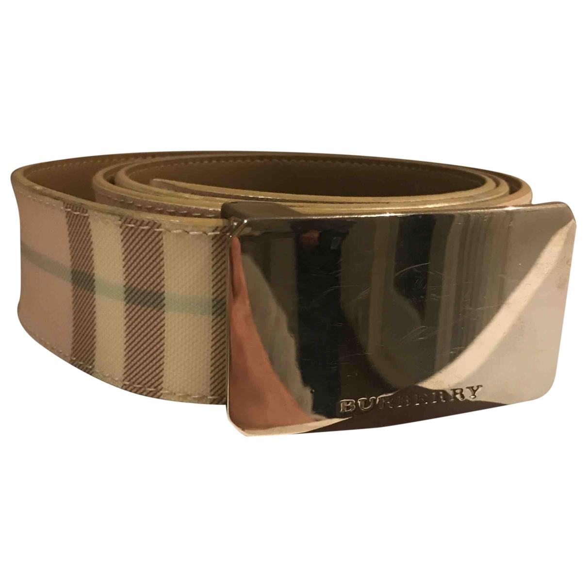Burberry \N Pink Cloth belt for Women M International