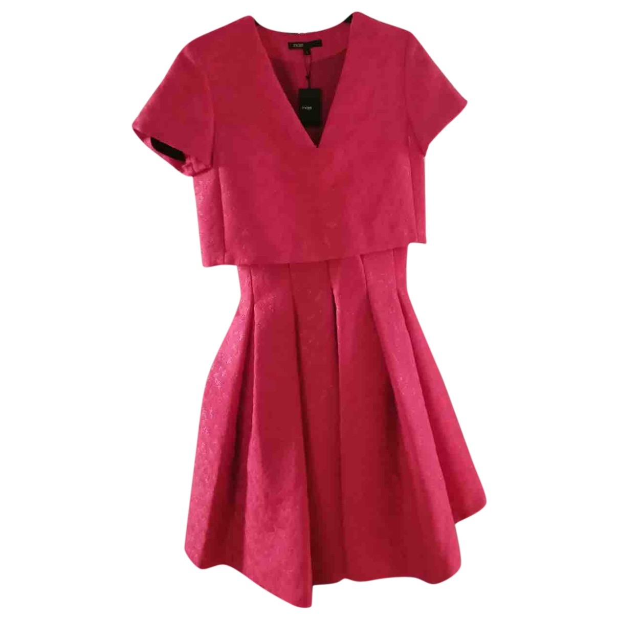 Maje \N Red dress for Women 34 FR