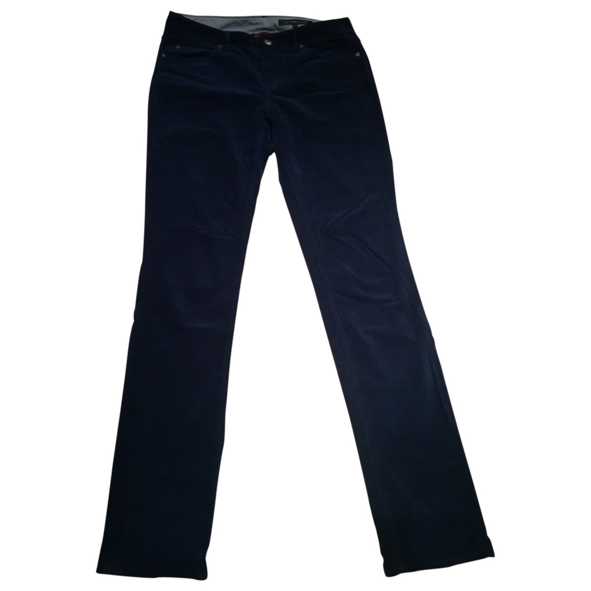Tommy Hilfiger \N Navy Cotton Jeans for Women 38 FR