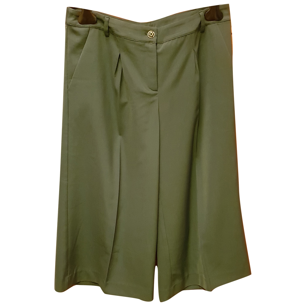 Non Signé / Unsigned Oversize Green Shorts for Women S International