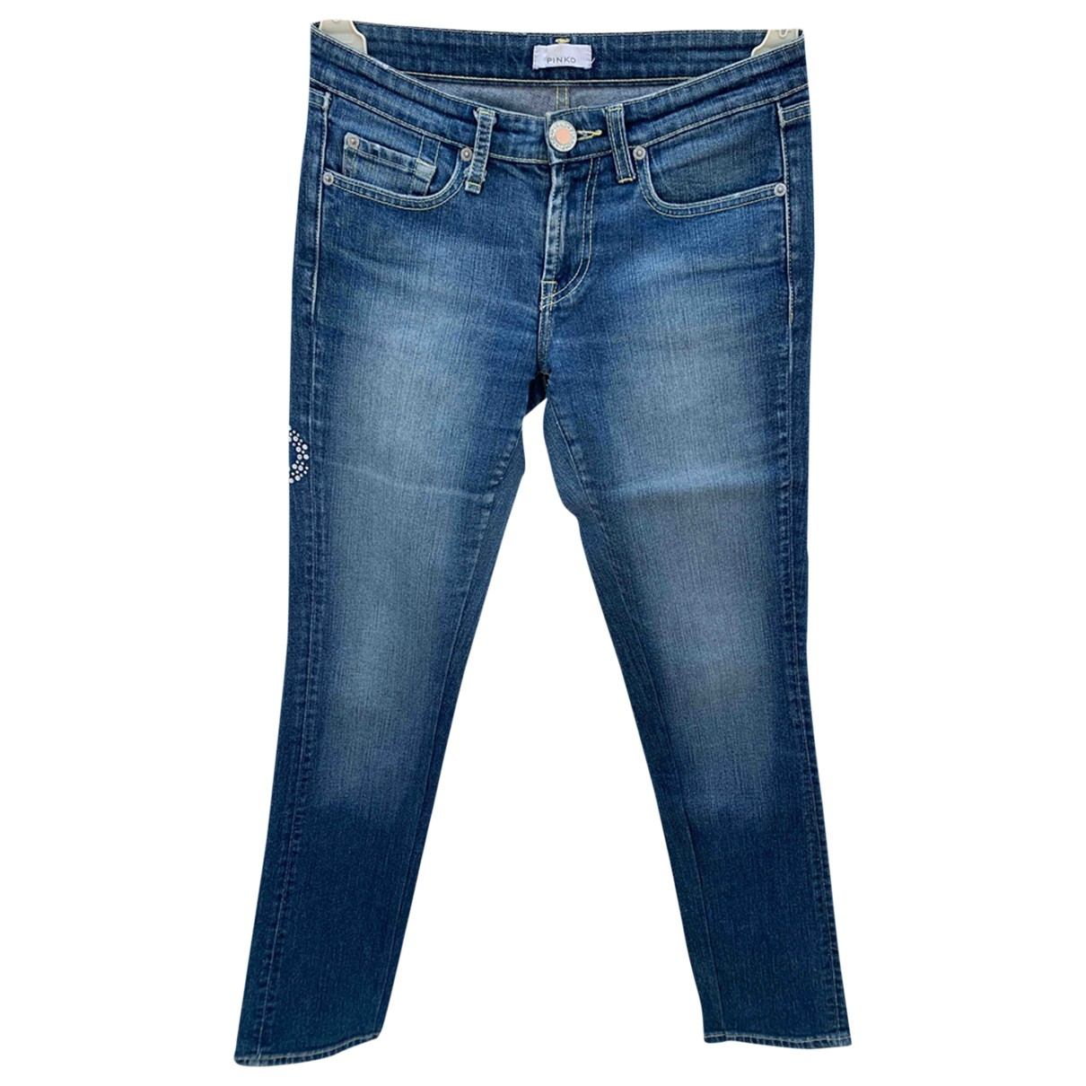 Pinko \N Blue Denim - Jeans Jeans for Women 28 US