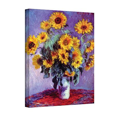 Brushstone Canvas Art, One Size , Yellow
