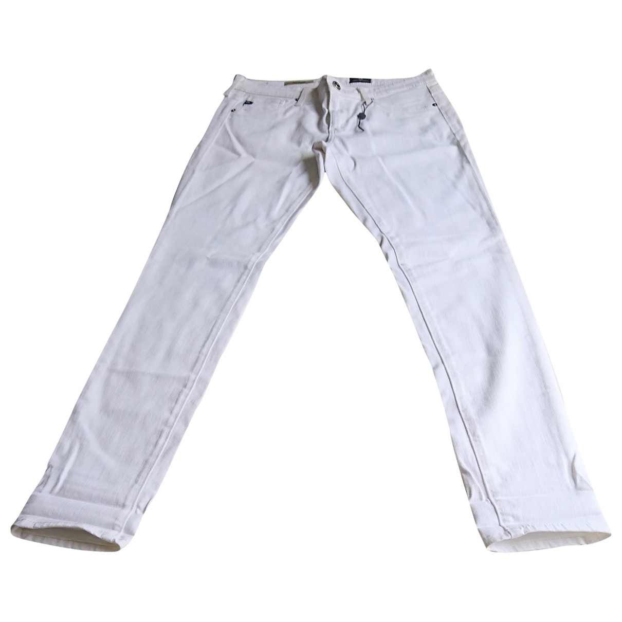 Ag Adriano Goldschmied \N White Cotton Jeans for Women 28 US