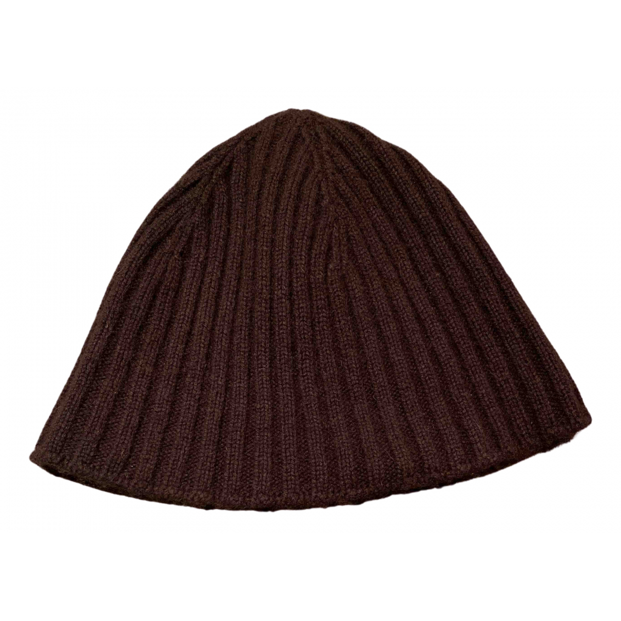 Malo \N Brown Cashmere hat for Women 54 cm