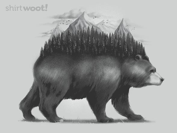 Bear Forest T Shirt