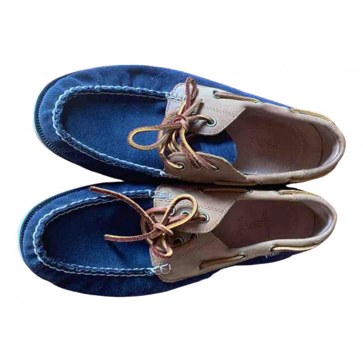 Polo Ralph Lauren \N Multicolour Leather Flats for Men 42 EU