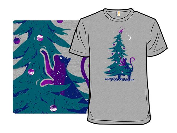 Kitty Tree Love T Shirt