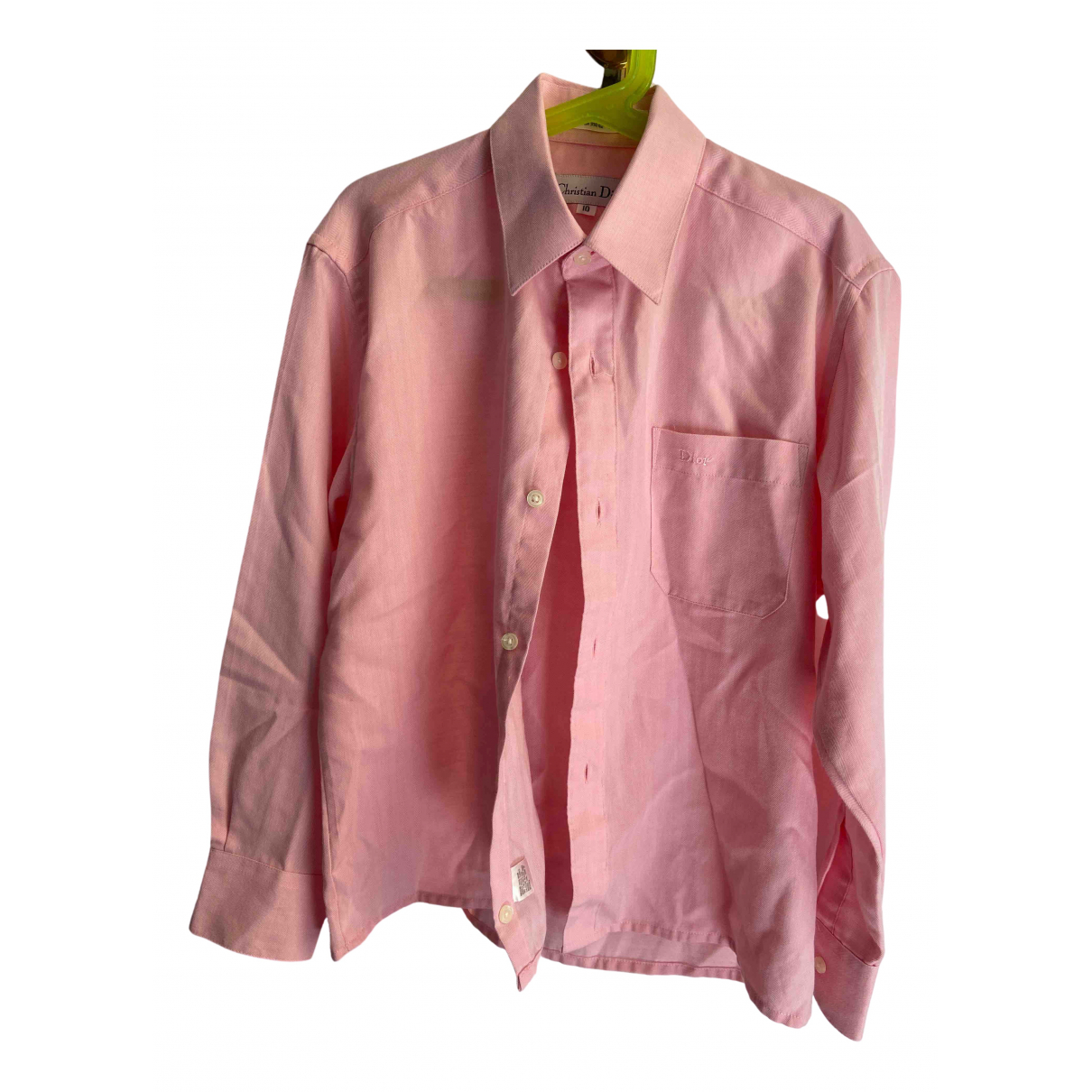 Dior \N Pink Cotton  top for Kids 10 years - until 56 inches UK