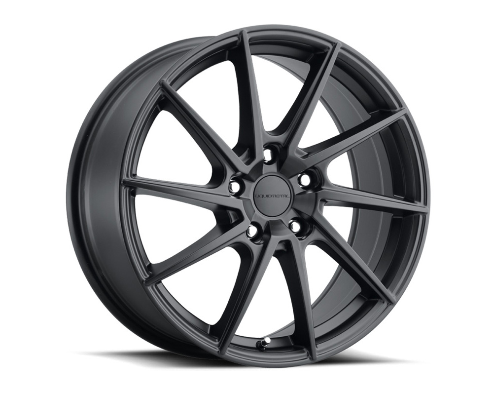 Liquid Metal 34-6765B Shadow Satin Black Wheel 16x7 5x114.3 40mm