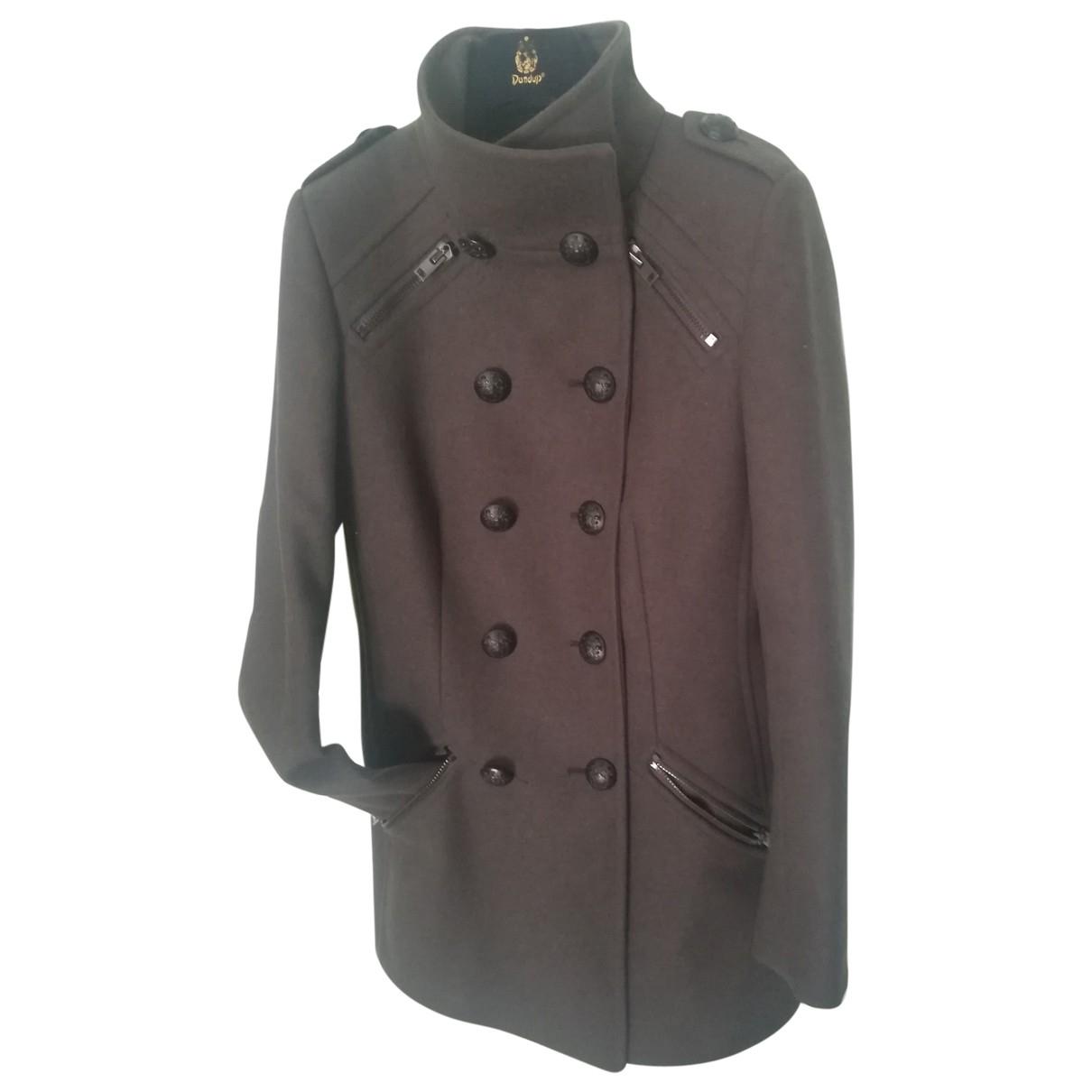 Dondup \N Brown Wool coat for Women 40 IT