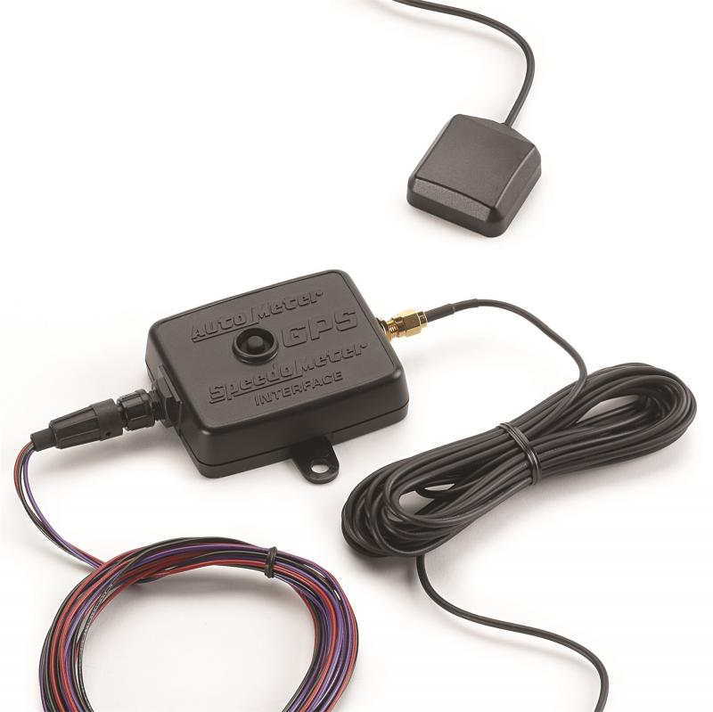 AutoMeter GPS GROUND SPEED KIT; 10HZ; FREQUENCY OUTPUT; INCL. MODULE/ANTENNA
