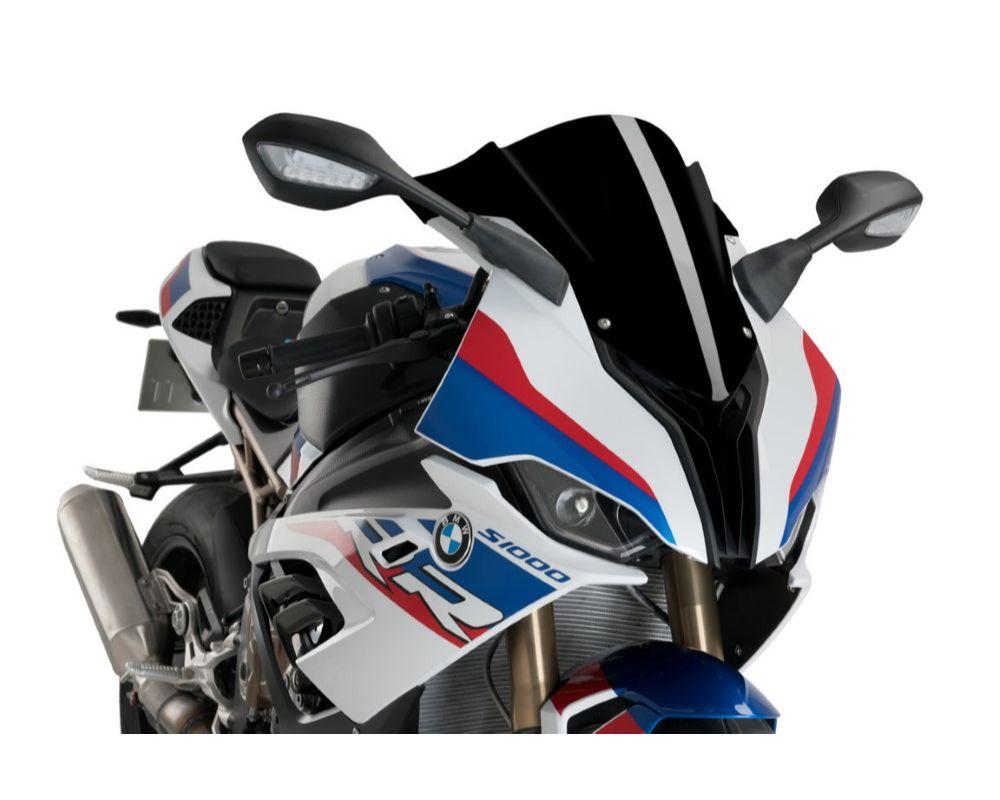 Puig 3571N Z-Racing Windscreen - Black BMW S1000RR 2019