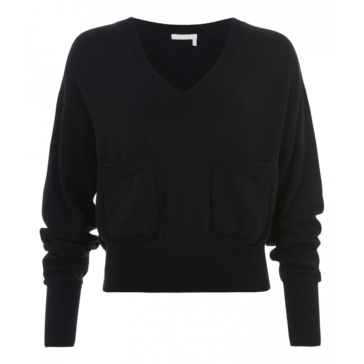 Chloé \N Navy Wool Knitwear for Women 10 UK
