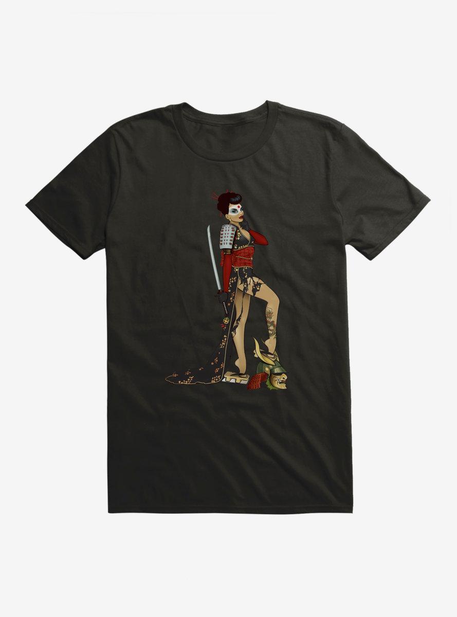 DC Comics Bombshells Meet Katana T-Shirt