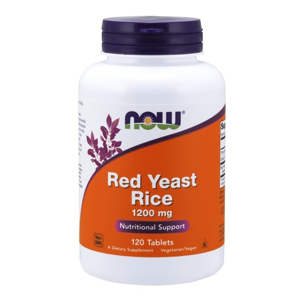 Red Yeast Rice Extract 120 Tabs by Now Foods