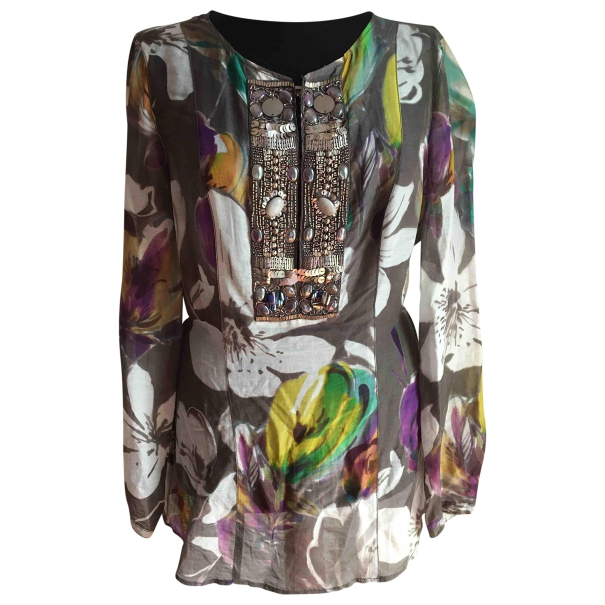 Luisa Cerano \N Multicolour Silk  top for Women 12 UK