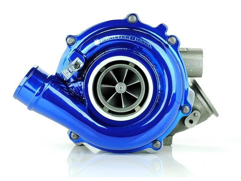 Sinister Diesel SD-PWRMAX-SDW-04 04-07 Ford 6.0L Powerstroke Powermax Stage 3 Turbo w/Sinister Wheel