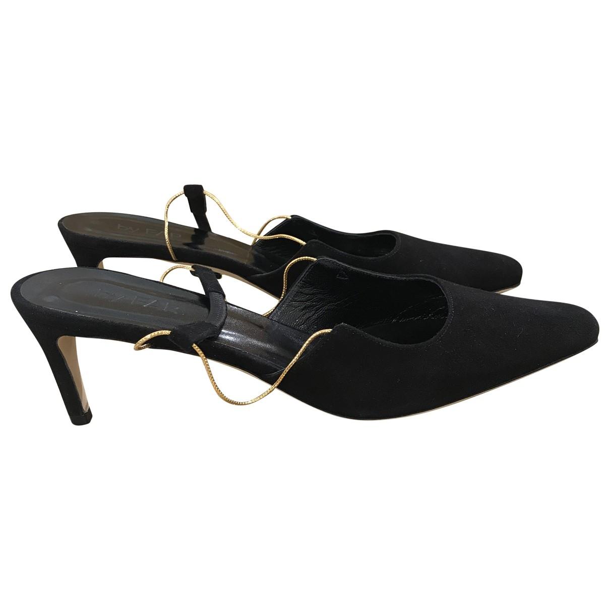 By Far \N Black Suede Sandals for Women 37 EU